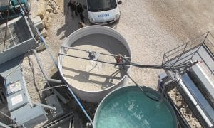 Concrete Water Recycling