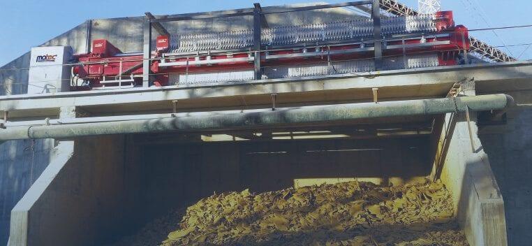 dewatering filter press