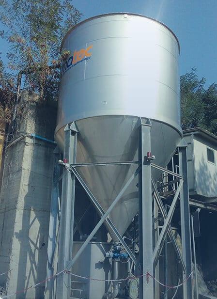dewatering clarifier deep cone