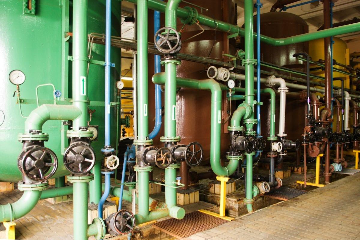 boiler with multiple valves