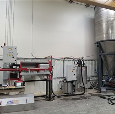Affordable Filter Press installation