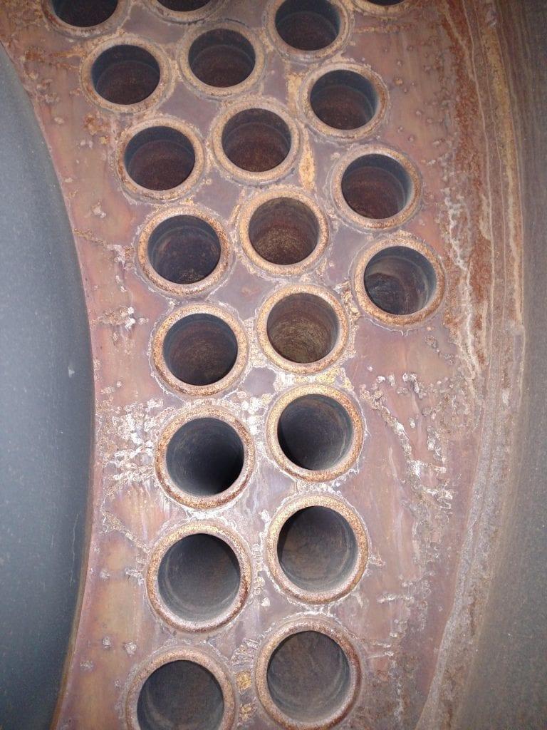 boiler damage