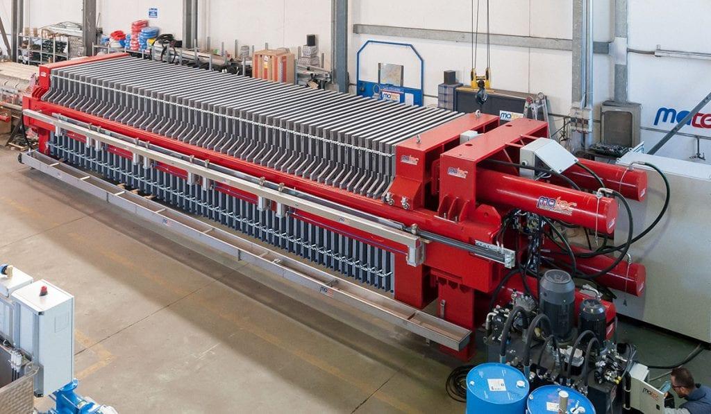 Wastewater Filter Press