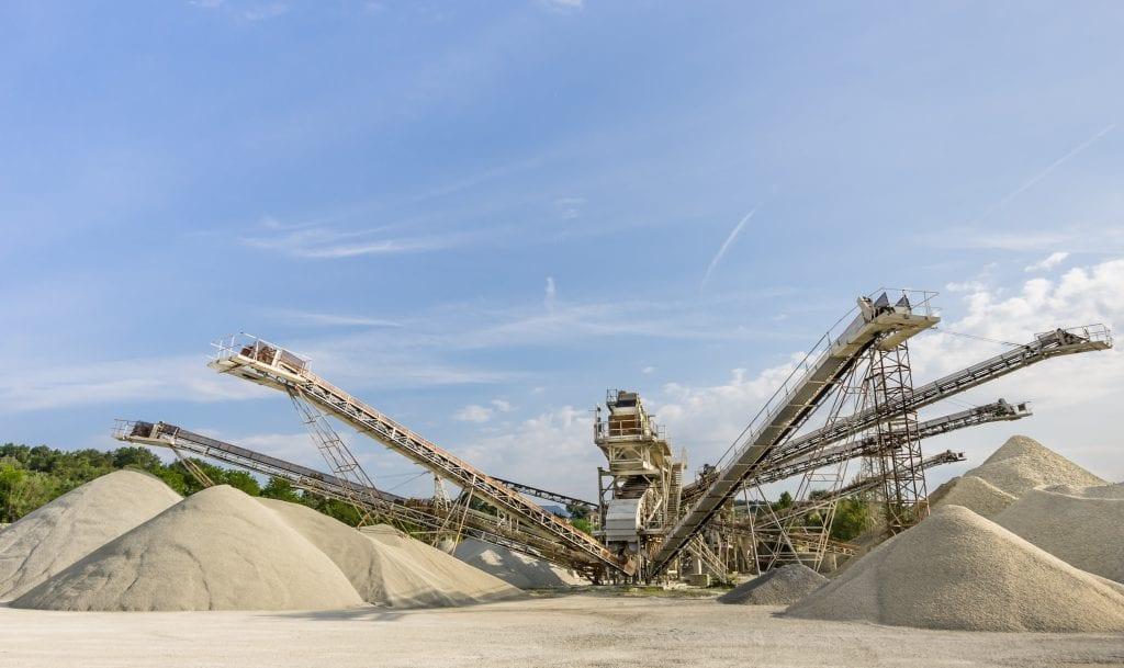 washing mining materials