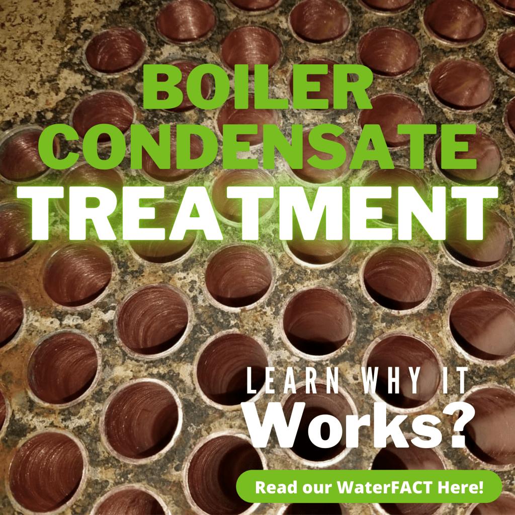 Boiler condensate treatment