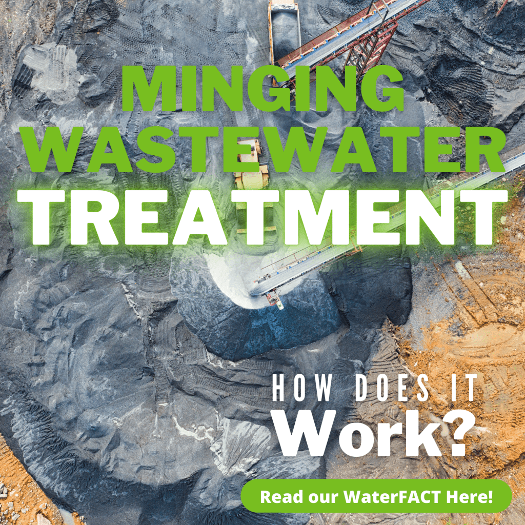 How does mining wastewater treatment work?