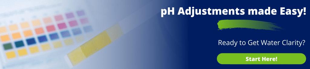 advertisement for pH adjustments